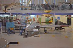 de Havilland DH 100 Vampire F Mk.III CF-RLK 17069 RCAF, The Hangar Flight Museum, Galgary