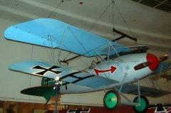 Albatros D Va (replica) N3767A H Luftwaffe San Diego Air & Space Museum