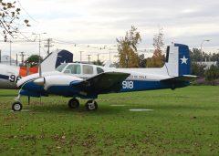 Beech C50 918 Fuerza Aérea de Chile