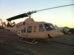 Bell 412ST 5722 Iraqi Air Force
