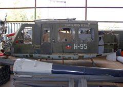 Bell UH-1H Iroquois H-95 Fuerza Aérea de Chile