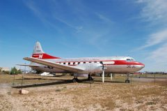 Convair 240-1 N240HH Western Airlines, Planes of Fame Air Museum, Grand Canyon Valle Airport, AZ | photo Tom Warnock