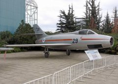 Dassault Mystere IVA 29 Israelian Air Force Museo Nacional Aeronautico y Del Espacio