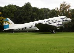 Douglas C-47A Dakota LV-ADF Museo Nacional Aeronautico y Del Espacio