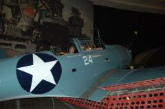 Douglas SBD-4 Dauntless 06900 24 US Navy, San Diego Air & Space Museum