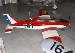 Enaer T-35 Pillan CC-YBT Museo Nacional Aeronautico y Del Espacio