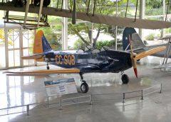 Fairchild PT-19A Cornell CC-SQB 0107 Museo Nacional Aeronautico y Del Espacio