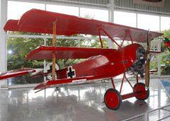Fokker Dr.1 CC-DMB Museo Nacional Aeronautico y Del Espacio