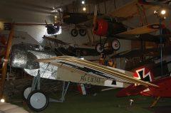 Fokker Eindecker E. III 246 15 Luftwaffe, San Diego Air & Space Museum