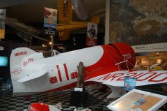 Gee Bee R-1 Super Sportster NR2100 7211, San Diego Air & Space Museum