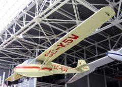 Let L-13 Blanik CC-K5W Museo Nacional Aeronautico y Del Espacio