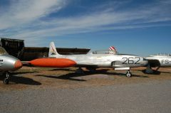 Lockheed T-33 Shooting Star 71-5262 262 Japanese Air Force, Planes of Fame Air Museum, Grand Canyon Valle Airport, AZ