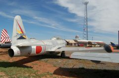 Lockheed T-33 Shooting Star 71-5262/262 Japanese Air Force, Planes of Fame Air Museum, Grand Canyon Valle Airport, AZ