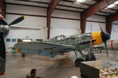 Messerschmitt Bf109G-10 611943/13+ Luftwaffe, Planes of Fame Air Museum, Grand Canyon Valle Airport, AZ