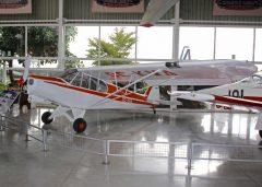 Piper PA-18 Super Cub CC-KWA Museo Nacional Aeronautico y Del Espacio