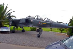 SEPECAT Jaguar E E40/7-HX French Air Force Museo Nacional Aeronautico y Del Espacio