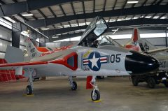 Pueblo Weisbrod Aircraft Museum Douglas F-6A Skyray 134936/AJ-105