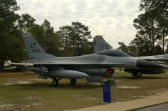 General Dynamics F-16A Fighting Falcon 80-0573 ET USAF, Air Force Armament Museum
