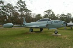 Lockheed T-33A 53-5947 USAF, Air Force Armament Museum
