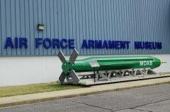 MOAB GBU-43B Massive Ordnance Air Blast bomb, Air Force Armament Museum