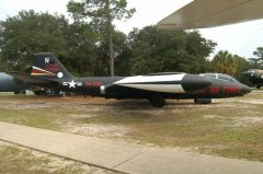 Martin EB-57B Night Intruder 52-1516 BA-539 N USAF, Air Force Armament Museum
