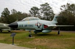 McDonnell F-101B Voodoo 56-0250 USAF, Air Force Armament Museum