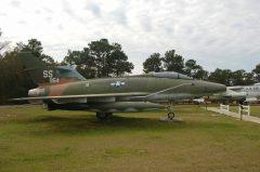 North American F-100C Super Sabre 54-1986 SS USAF, Air Force Armament Museum