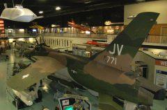 Republic F-105D Thunderchief 59-1771 JV USAF, Air Force Armament Museum