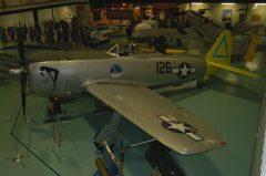 Republic P-47N Thunderbolt  N345GP 44-89320 126  US Army Air Force, Air Force Armament Museum