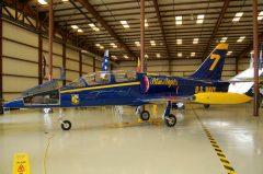 Aero L-39C Albatros N139PJ 7 Blue Angels US Navy, Valiant Air Command Warbird Museum, Titusville, FL