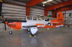 Beech T-34C Mentor 161055 E-055 US Navy,Valiant Air Command Warbird Museum, Titusville, FL