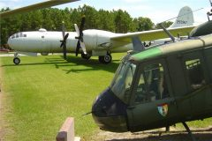 Bell UH-1D Iroquois and Boeing RB-29A Superfortress, Georgia Veterans Memorial State Park