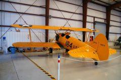 Boeing Stearman N2S-3 Kaydet 07591 184 US Navy, Valiant Air Command Warbird Museum, Titusville, FL