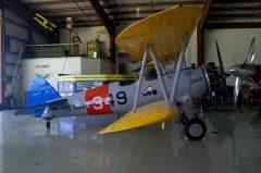Boeing Stearman N2S-5 Kaydet N2JS/349/134 US Navy, Warbird Adventures/Kissimmee Air Museum, Kissimmee, FL