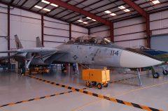 Grumman F-14A Tomcat 161134 AJ-114 US Navy, Valiant Air Command Warbird Museum, Titusville, FL