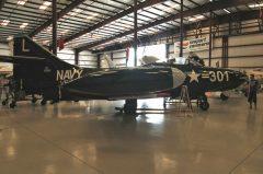 Grumman F9F-5 Panther 125295 L-301 US Navy, Valiant Air Command Warbird Museum, Titusville, FL