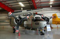 Grumman S-2F1 Tracker N8114T 136433 433 US Navy,Valiant Air Command Warbird Museum, Titusville, FL
