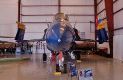 McDonnell Douglas FA-18A Hornet 161948 Blue Angels US Navy, Valiant Air Command Warbird Museum, Titusville, FL