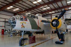 North American B-25J Mitchell N62163 44-86697 3L USAAF,Valiant Air Command Warbird Museum, Titusville, FL