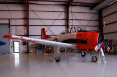 North American T-28C Trojan N9025Y 140475 3G-714 US Navy, Valiant Air Command Warbird Museum, Titusville, FL