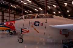North American T-2C Buckeye 156702 F-810 US Navy, Valiant Air Command Warbird Museum, Titusville, FL