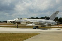 Republic F-105D Thunderchief 60-0492 USAF, Valiant Air Command Warbird Museum, Titusville, FL