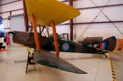 de Havilland DH.82 Tiger Moth NX9TM Royal Air Force, Valiant Air Command Warbird Museum, Titusville, FL