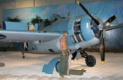 Grumman F4F-3 Wildcat F1, Pacific Aviation Museum Pearl Harbor