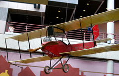 Benoist Tractor biplane, State Historical Building of Iowa