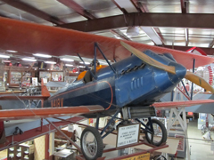 Lincoln Page LP-3 N418V, Cloud County Historical Museum