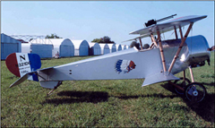 Nieuport 11 (replica) N32100, Illinois Aviation Museum