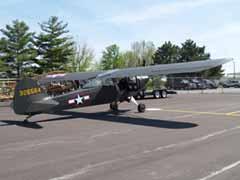 Taylorcraft L-2M Grasshopper N499M/326564 Air Combat Museum