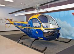 Larry Bell's 1955 Bell 47H-1 N996B Niagara Aerospace Museum