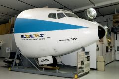 Boeing 707-458 (cockpit) 4X-ATA EL AL, Cradle of Aviation Museum, Garden City, NY